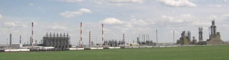 petrochemical complex at Joffre